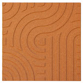 Muratto Cork Strips Wave Copper